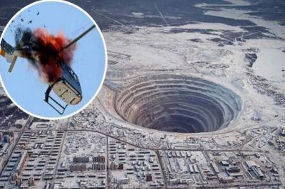 यह है दुनिया की सबसे बड़ी हीरे की खदान, अगर यहां से निकला हेलीकॉप्टर तो...