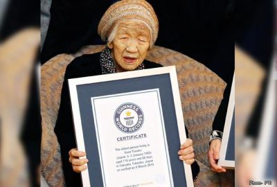 गिनीज वर्ल्ड रिकॉर्ड्स में दर्ज हुआ 116 साल की महिला का नाम