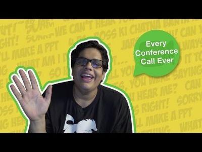 ऐसी ही बातें करते हैं हम Video Conference Call पर