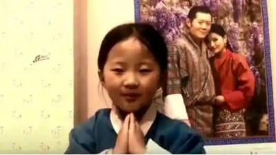 Bhutanese children are expressing gratitude to India, see this heart-winning video