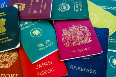 These four color passports are used all over the world, each one means different