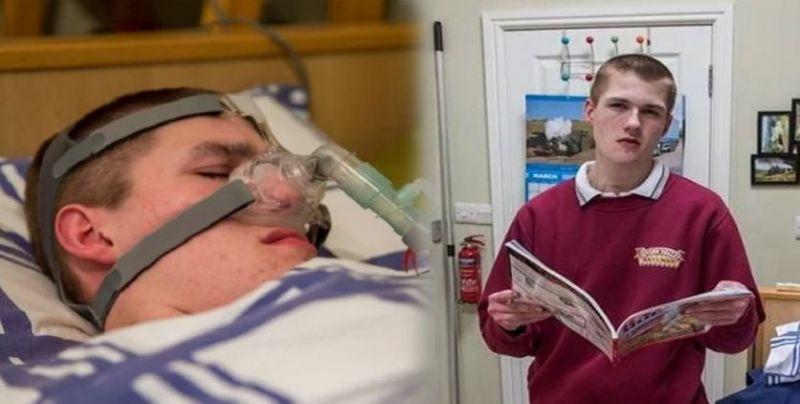 अजीब बीमारी से ग्रसित है 17 साल का लड़का, सोया तो हो जाएगी मौत