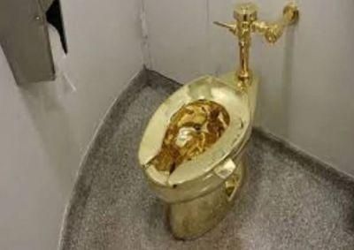 इस कमोड में लगा है 18 कैरेट सोना, आम जनता भी करेगी इस्तेमाल