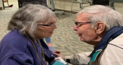 Video: Living away from each other after 70 years of marriage is hard