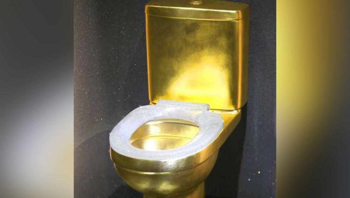 10 करोड़ रुपए से बना है ये गोल्डन टॉयलेट, जड़े गए हैं 40 हज़ार से अधिक हीरे