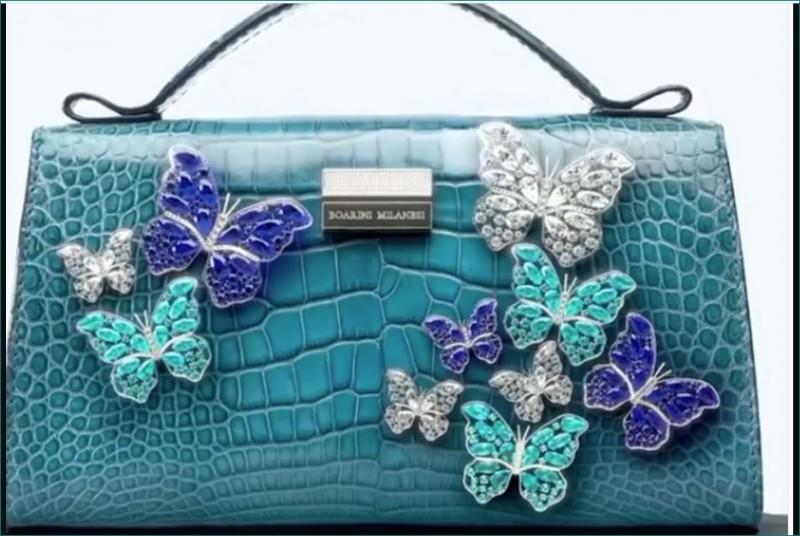 लांच हुआ दुनिया का सबसे महंगा बैग, लगीं हैं सोने की तितलियाँ