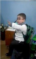 Video : पाकिस्तानी बच्चा भी दे रहा धमकी, हो रही वायरल
