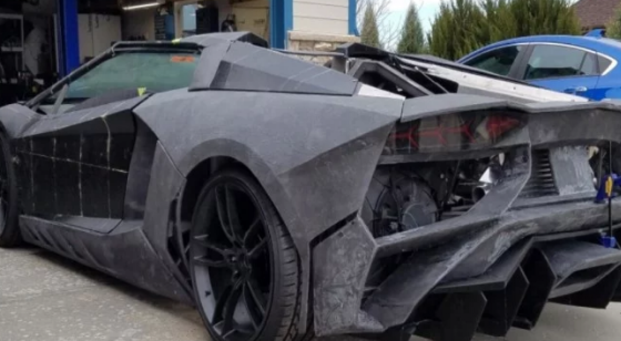 Father showed love for his son, built Lamborghini car in 14 lakhs