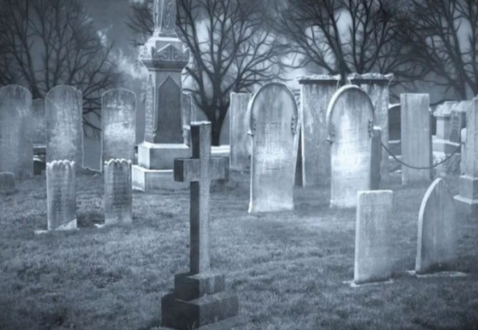While burying in the grave, sound started coming out of coffin, people shocked