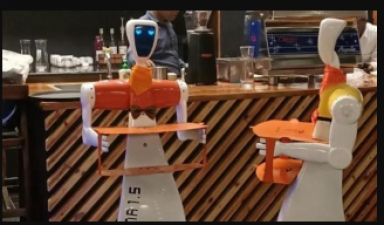 Robots serve food in this restaurant, know what's special
