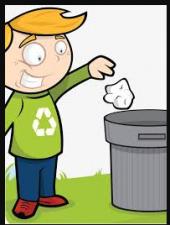 Threw valuable thing in trash bin considering garbage
