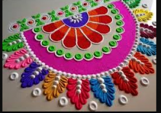 This Diwali make latest and trendy rangoli, decorate the home to welcome Goddess Lakshmi