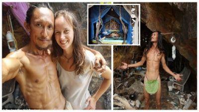 गुफा में रहता है शख्स, फिर भी खींची चली आती हैं विदेशी महिलाएं