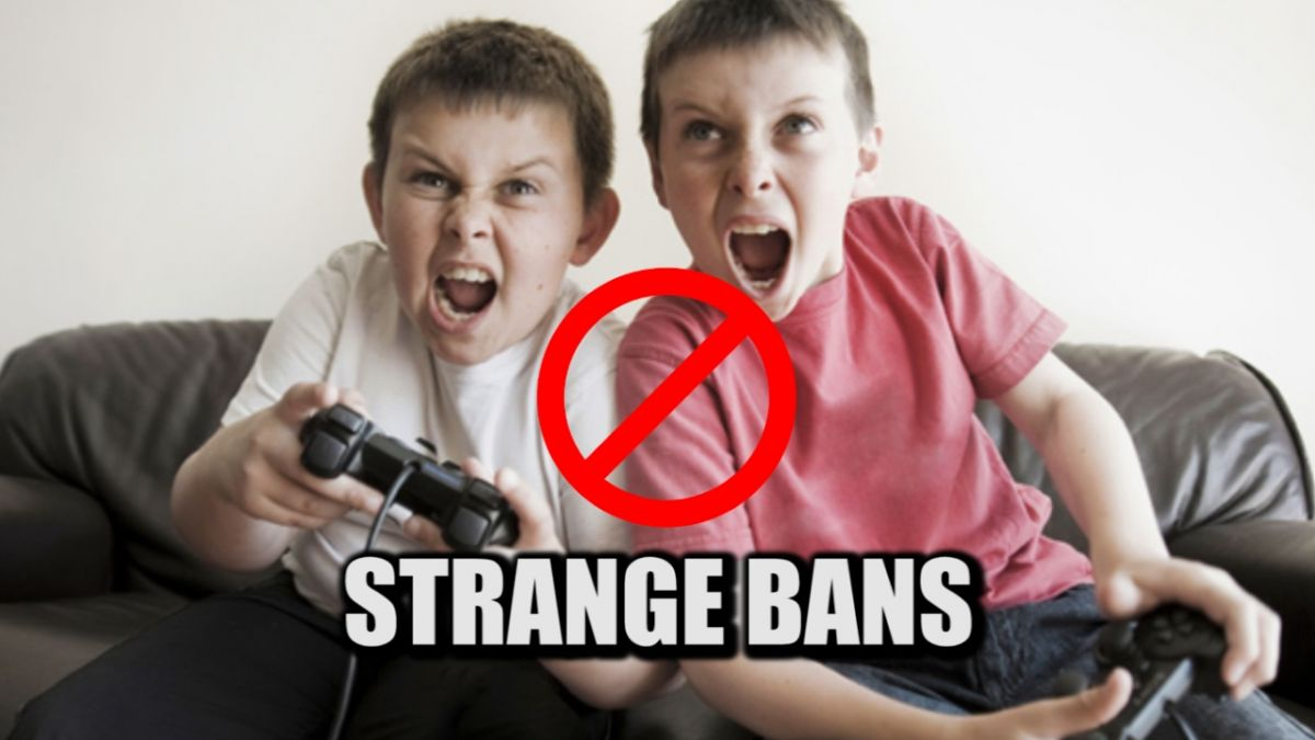 Video games are banned in this country, such strange things are banned in other countries!