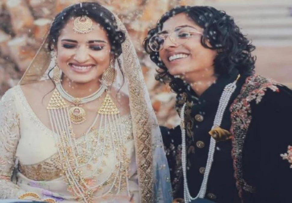 Indo-Pak girls get married in America, see viral photos!