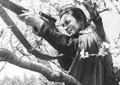 With 309 confirmed kills, Lyudmila Pavlichenko considered most successful female sniper in history