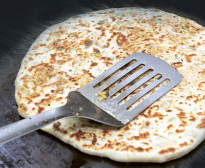 Three miscreants hijacked a car for famous parathas
