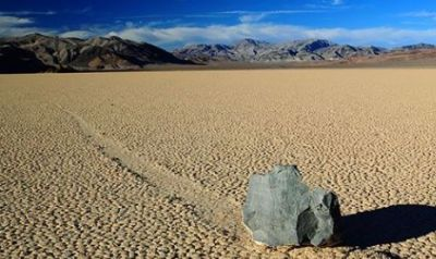 Mystery Behind the Sailing Stones of Death Valley, the truth will surprise you