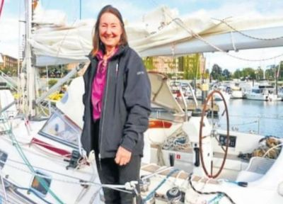 71 years old woman travelled the world by boat, made a unique record