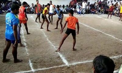 The winner of this kabaddi game will get chicken and egg