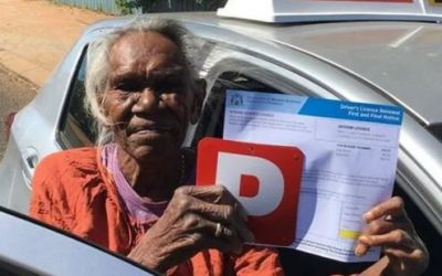 This woman had to get a driving license at the age of 75, know the reason