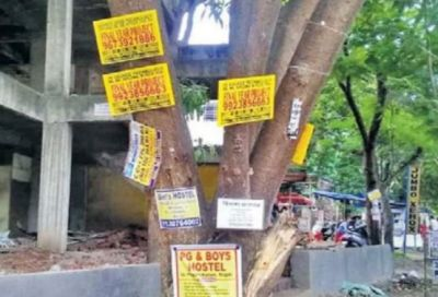 Advertising on Chennai Trees May Cost You a Hefty Fine, 3 Years in Prison