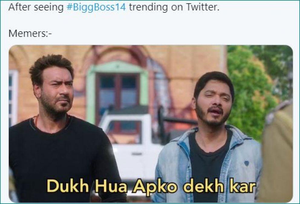 Memes making fun of Bigg Boss 14 rules internet