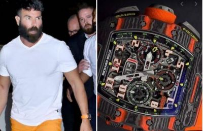 World's richest playboy came to visit India, his watch is in discussion