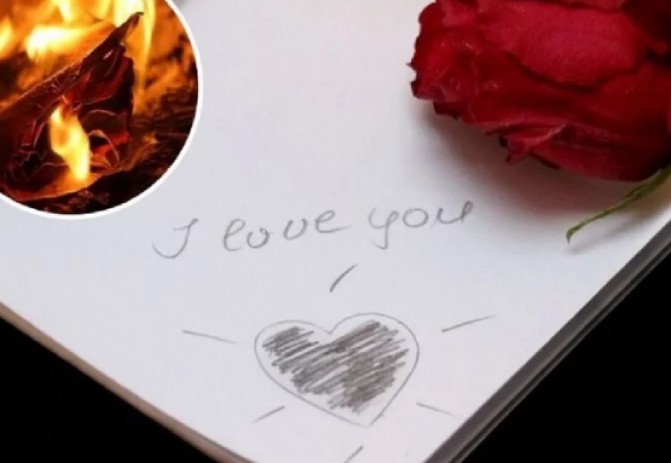 Woman was burning Love letter of her lover, Suffered loss in millions