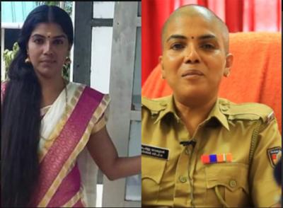 महिला पुलिस अफसर ने इस वजह से कटवा दिए सिर के सारे बाल, वजह जानकर हो जाएंगे हैरान