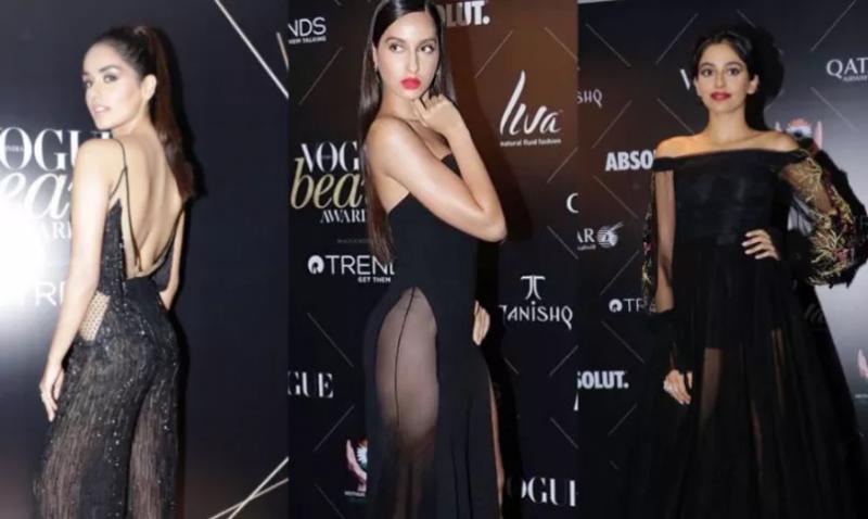 बॉलीवुड अभिनेत्रियों ने अपने सेक्सी ब्लैक लुक से सजाई महफ़िल