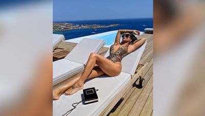 This sexy diva robbed All Limelight In Bikini, see pics!
