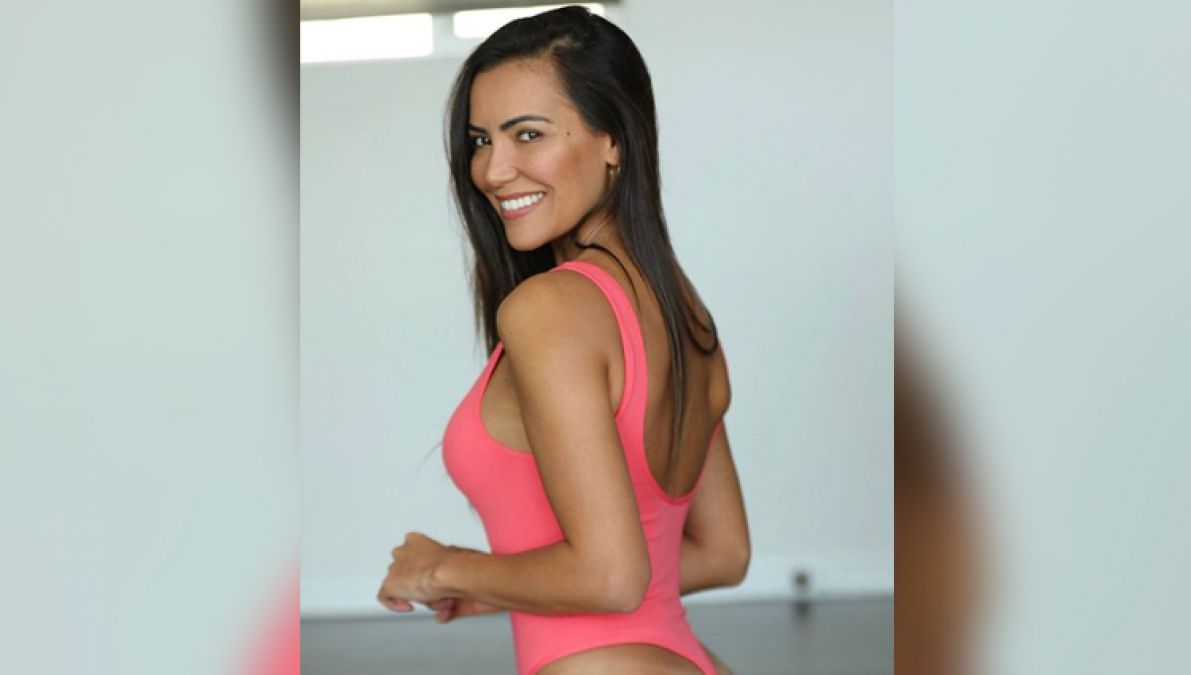 The Brazilian model made a hot photoshoot, looked extremely