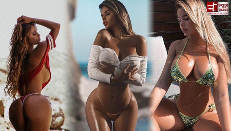इस मॉडल ने फिर दिखाया अपना सेक्सी अवतार