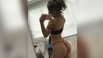 This model is injuring people by showing her hips, Checkout here