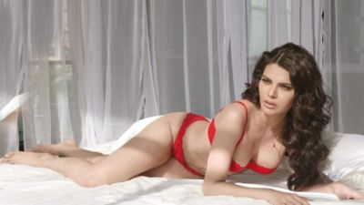 VIDEO: Sherlyn Chopra strips off her clothes on bed, check out the erotic video here