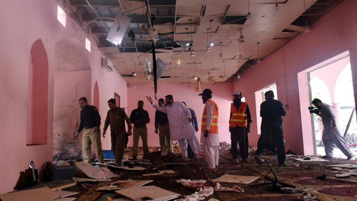 Pakistan: Massive bomb blast inside a mosque in Quetta, 5 killed, 15 injured