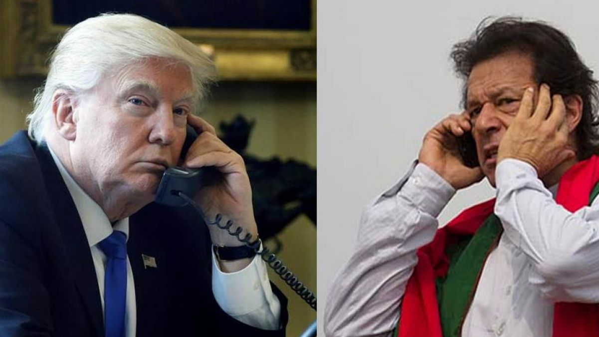Pak seeks support from US on Kashmir issue, Trump says 'resolve it through bilateral talks'