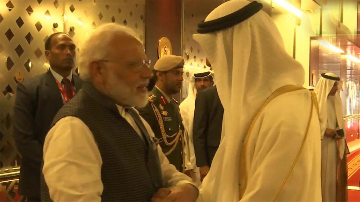 PM Modi receives UAE's highest civilian honour, now departs for Bahrain