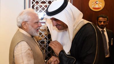 PM Modi to get UAE's highest civilian honour today