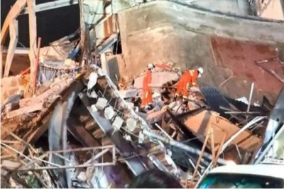 29 dies after hotel collapses in China