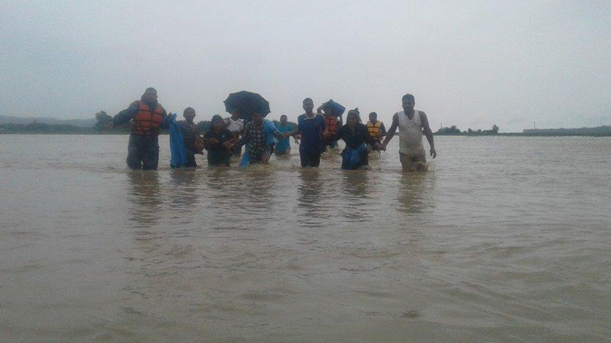 Floods wreak havoc in Nepal, 43 killed, 24 missing