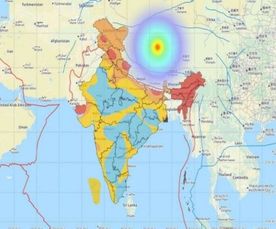 Earthquake tremors in Tibet, know why earthquake occurs