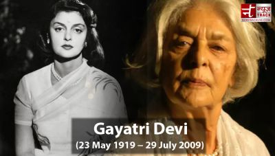 Rajmata Gayatri Devi who stole the hearts of the people with her beauty
