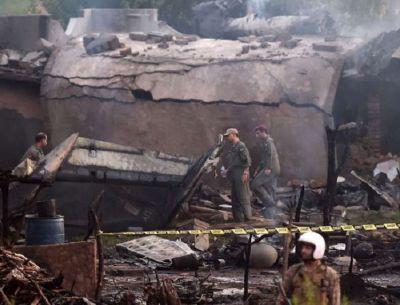 रावलपिंडी में गिरा पाकिस्तानी सेना का विमान, 15 लोगों की मौत कई घायल
