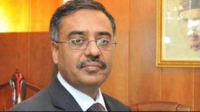 Pakistan Foreign Secretary Sohail Mahmood arrives in India