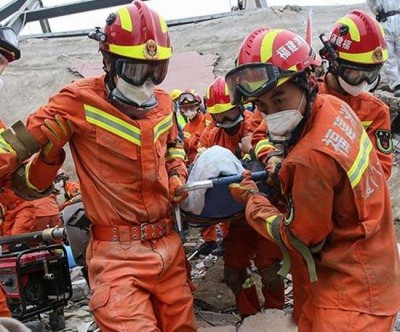 Horrific accident: Hotel collapsed in China, many died