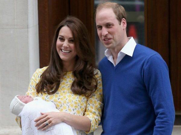 ब्रिटेन की नन्ही राजकुमारी का नाम शारलेट एलिजाबेथ डायना