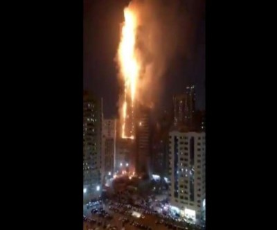 Horrific Accident: fire in UAE residential tower, seven injured