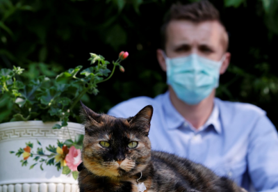 French cat recover from Corona infection